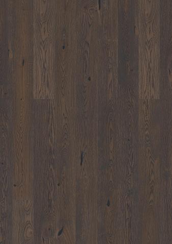 138mm breite Diele Eiche Brown Jaspe gebürstet, dunkle Brauntöne Gebürstet Klick Parkett Live Natural Öl gefast 1 Landhausdiele 138x2200x14mm 3.04m2/Packet