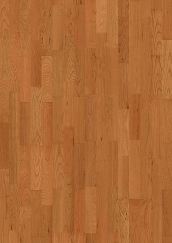 3-Stab 215mm breite Kirschbaum amerikanisch Ohne Bürstung Klick Parkett Live Matt Lack ohne Fase 1 Schiffsboden 215x2200x14mm 2.84m2/Packet