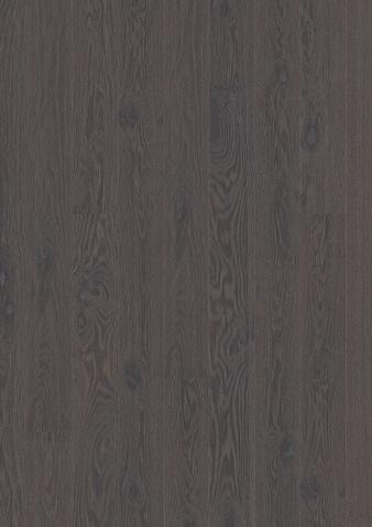 138mm breite Diele Eiche Foggy Brown gebürstet, Gebürstet Klick Parkett Live Pure Lack gefast 1 Landhausdiele 138x2200x14mm 3.04m2/Packet