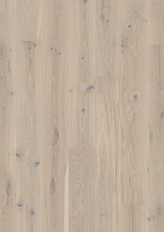 138mm breite Diele Eiche Pale White Gebürstet Klick Parkett Live Pure Lack gefast 1 Landhausdiele 138x2200x14mm 3.04m2/Packet