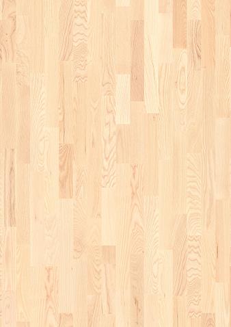 3-Stab 215mm breite Diele Esche weiß Andante Gebürstet Klick Parkett Live Pure Lack gefast 1 Schiffsboden 215x2200x14mm 2.84m2/Packet