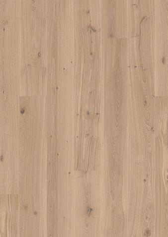 181mm breite Diele Eiche Animoso, weiss pigmentiert Ohne Bürstung Klick Parkett Live Matt Lack gefast 1 Landhausdiele 181x2200x14mm 3.19m2/Packet
